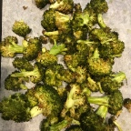 Barefoot Contessa's Roasted Broccoli with Garlic